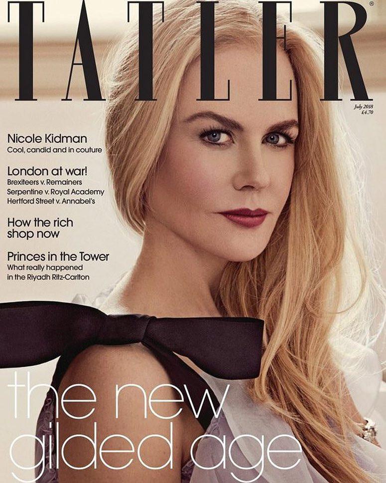 Николь Кидман на обложке журнала