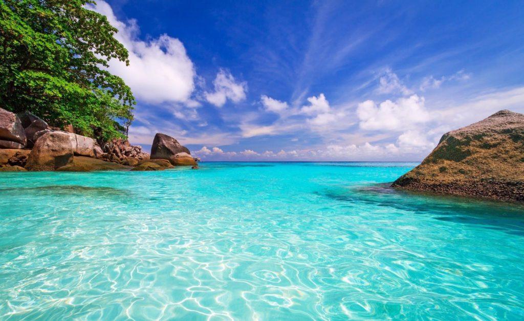 бирюзовый океан