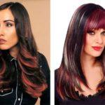 Колорирование на темные волосы: фото до и после, цена и ТОП 5 лучших техник