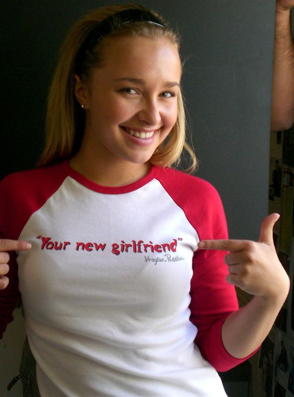 Hayden panettiere - your new girlfriend