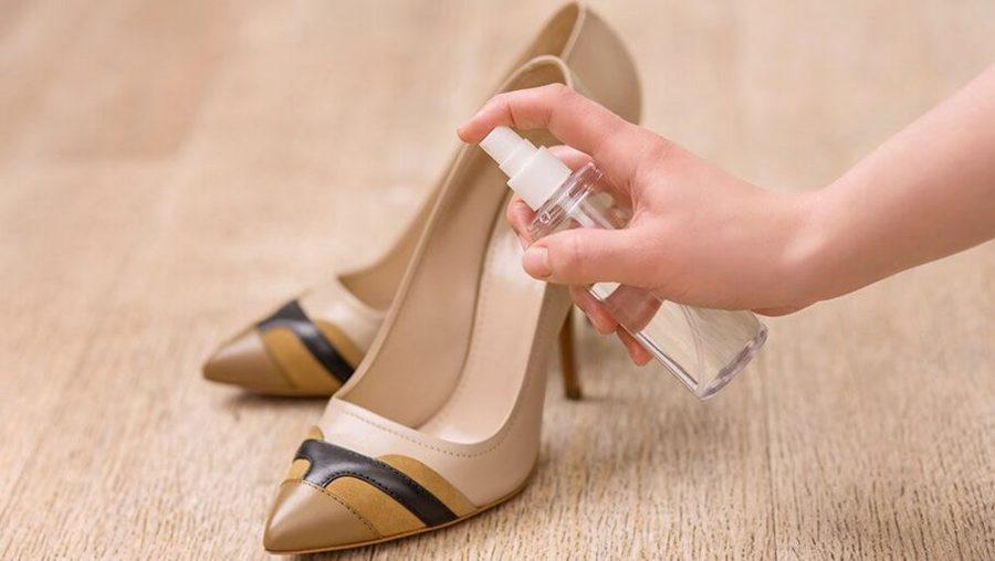 спрей алкоголь или пиво для растяжки обуви