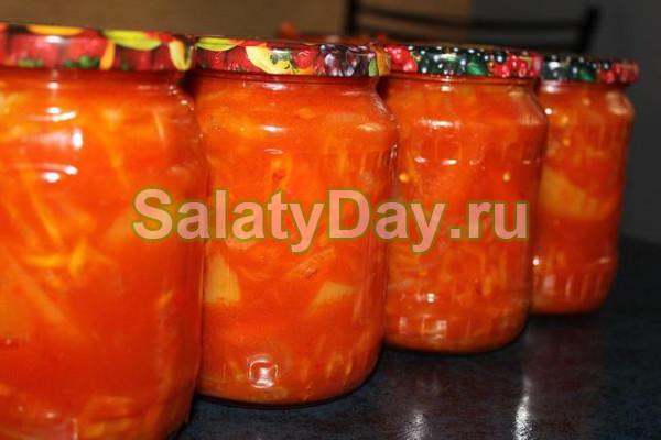 Салат из моркови на зиму «Бульонный»