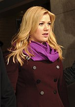 Kelly Clarkson Standing