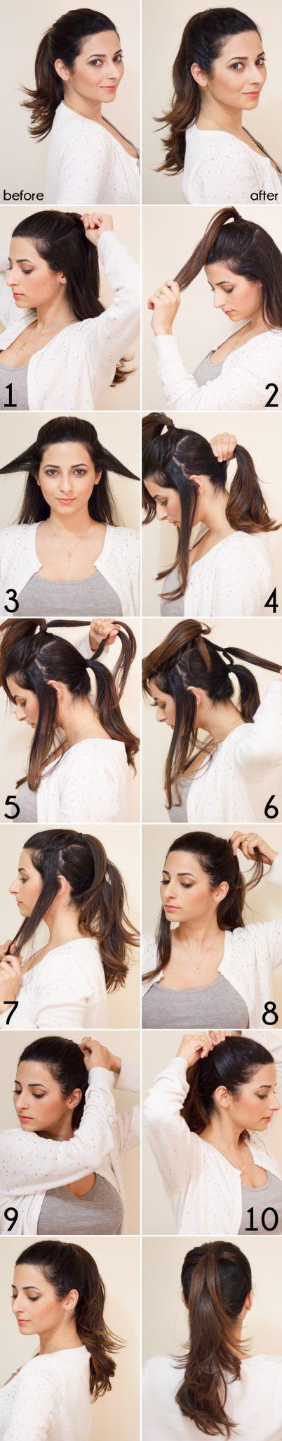 Стрижка из длинных волос в короткие