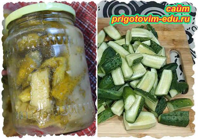 Рецепт огурцов на зиму в горчичной заливке
