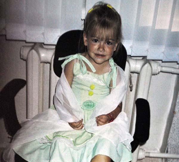 Елизавета Кононова в детстве