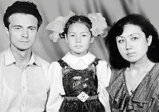 Ляйсан утяшева родители фото