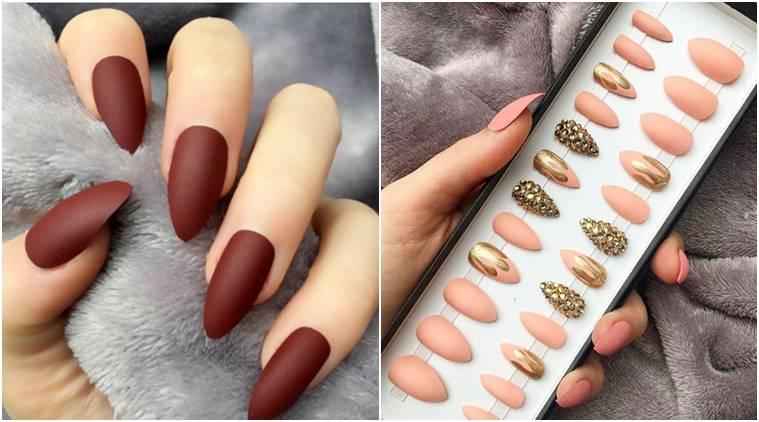 Fake painted nails
