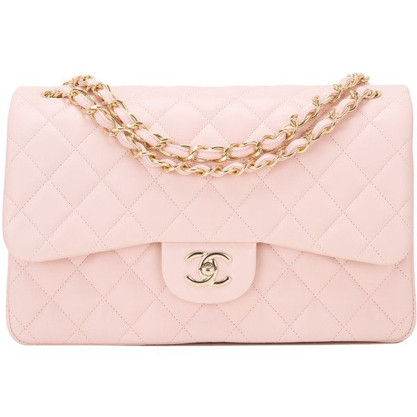 Pink quilted chanel bag