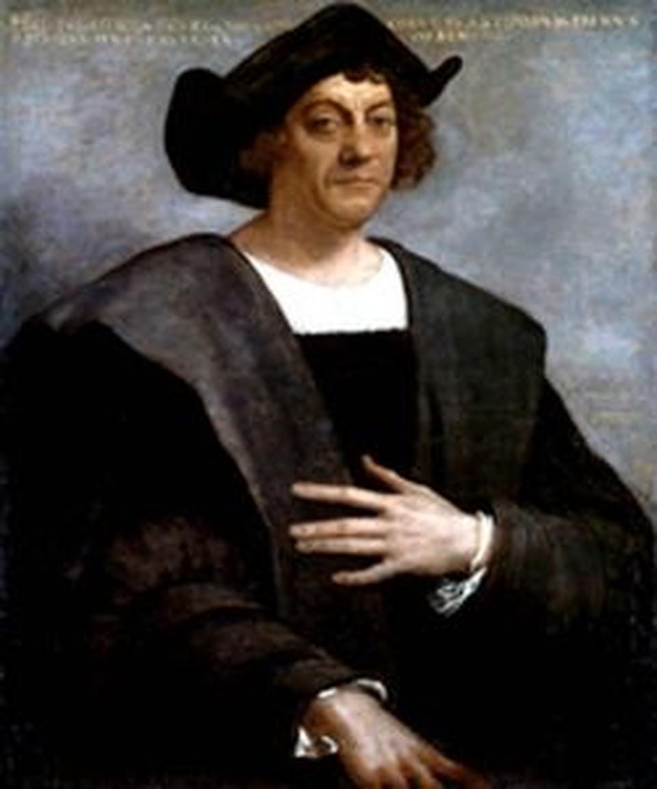 Как говорят современники путешественника - Колумба сгубила жадность.