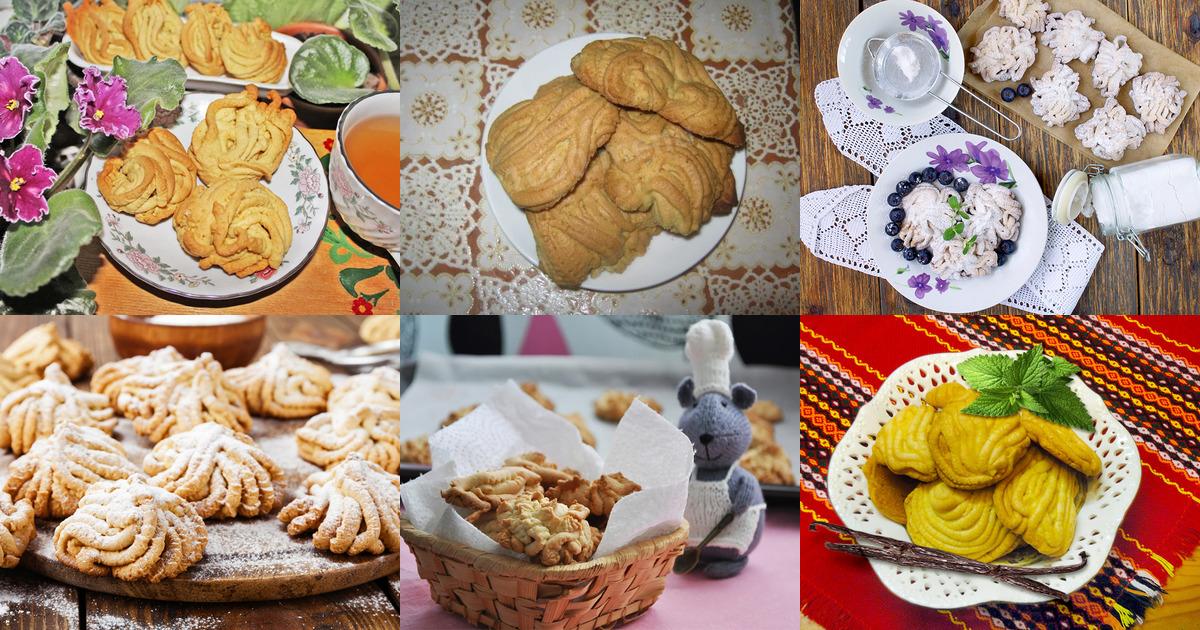 Домашнее печенье на мясорубке рецепт