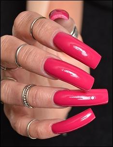 Nails models photos
