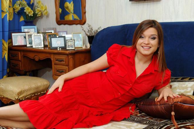 Ксения Бородина в начале карьеры