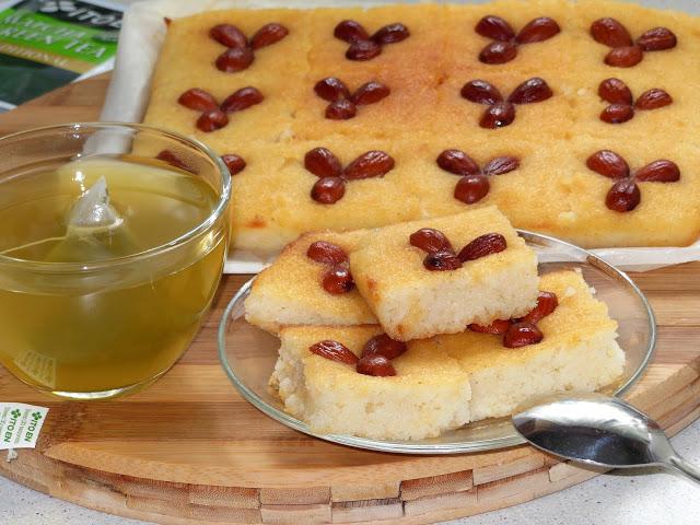 Турецкие пирожные из манки