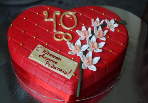 Что подарить на юбилей свадьбы 40 лет родителям