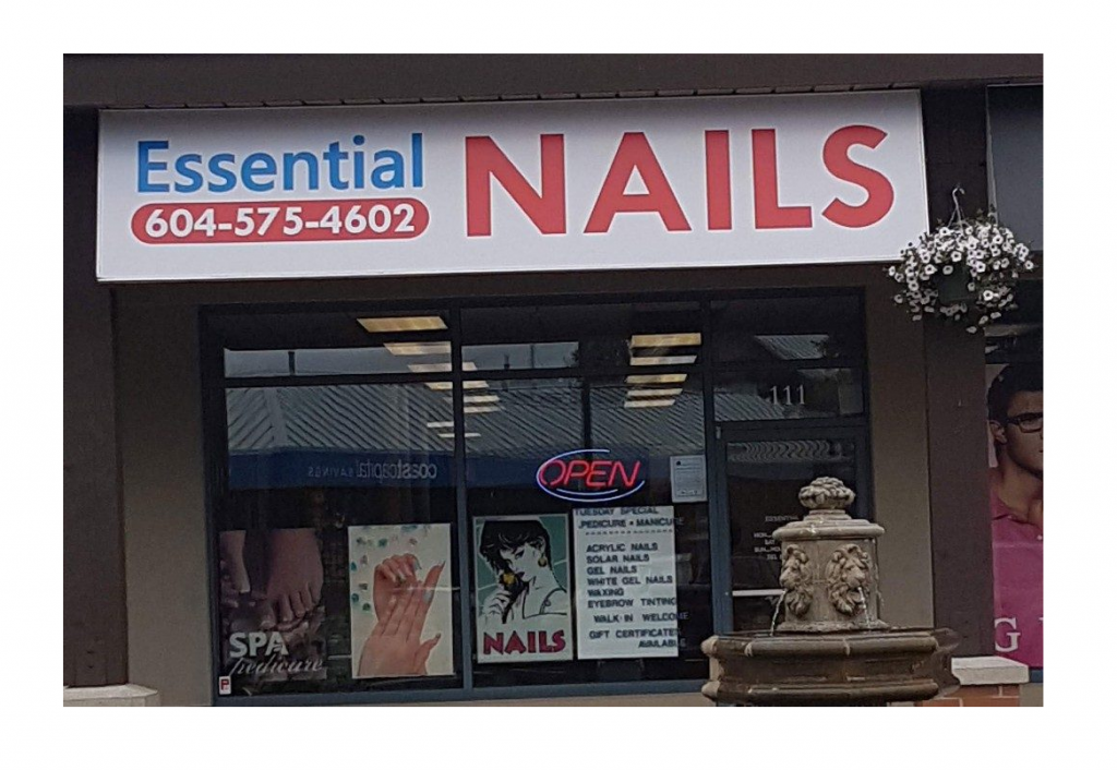 Essential nails cloverdale hours