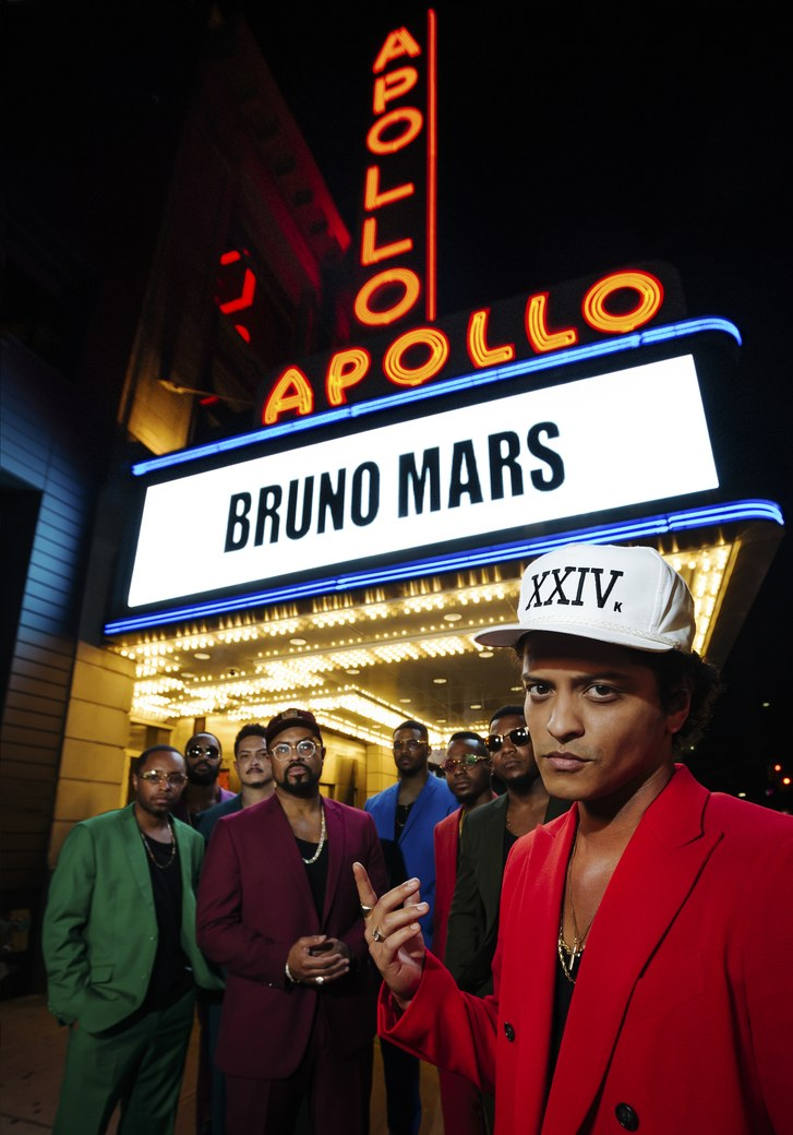 Bruno mars official homepage