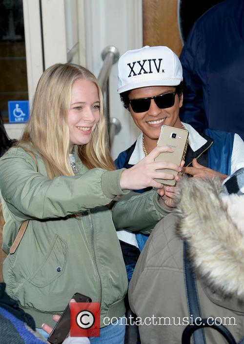 Bruno mars signed memorabilia