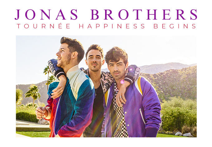 Concert tickets to the jonas brothers
