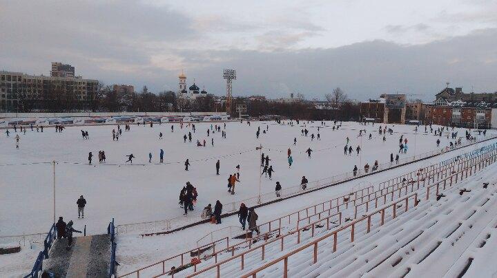 Замерзнете на стадионе «Динамо» — рядом Большая Покровская и уютные кафе