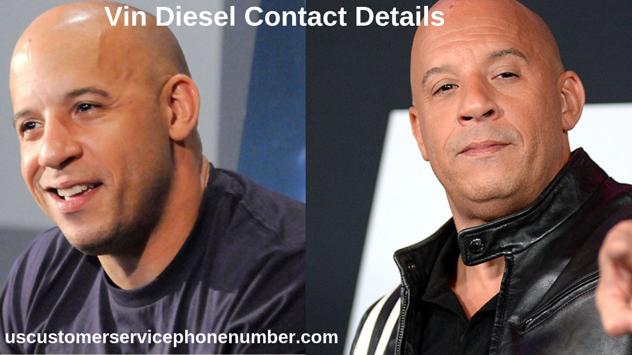 Vin diesel number phone