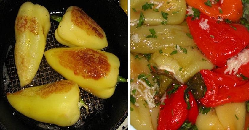 Армянская закуска из болгарского перца