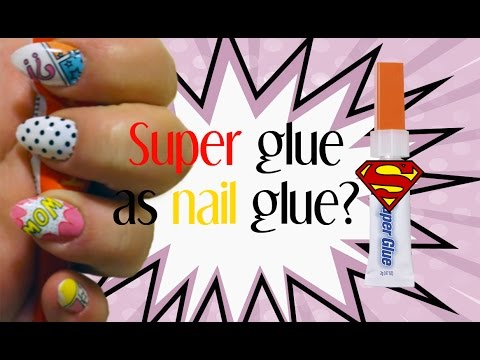 Can you put super glue on fake nails