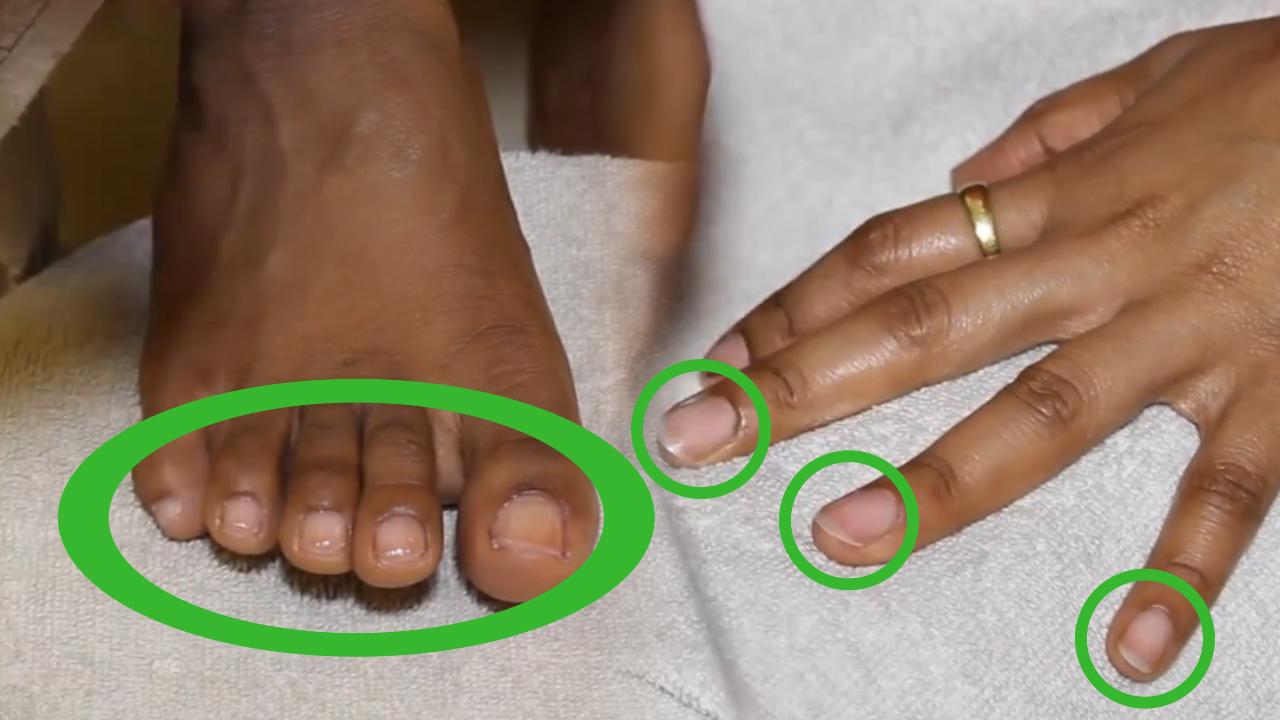 How to shape fingernails properly