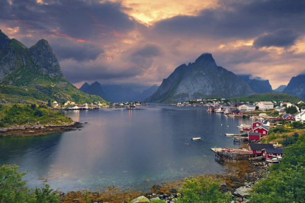 Reine Norwegen