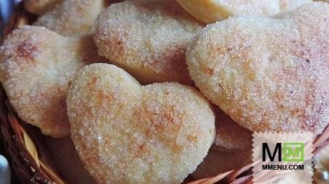 Рецепт творожного слоеного печенья
