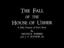 The fallen house of usher