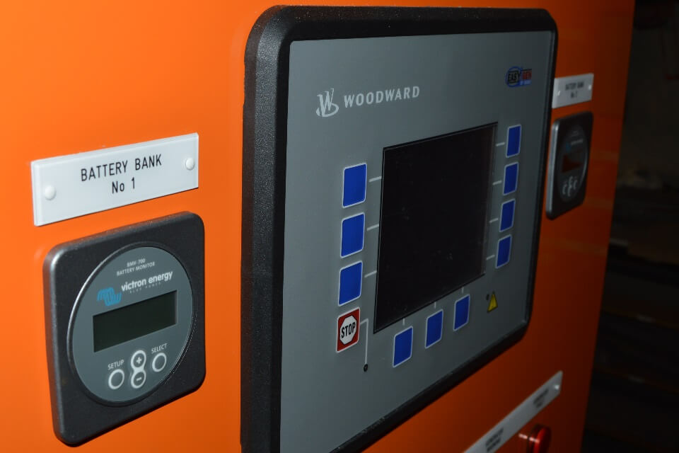 Generator Control Panels Systems Insight