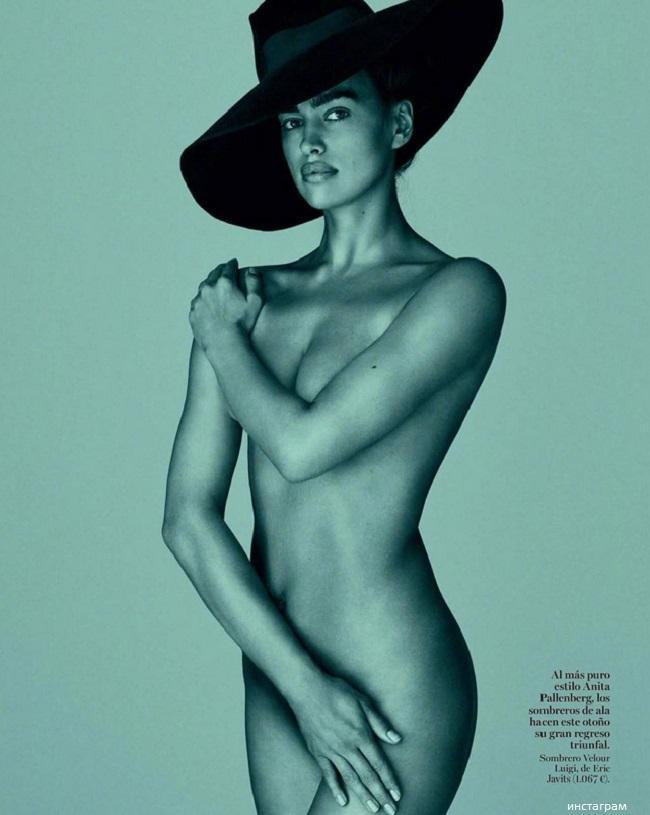 Ирина шейк голым