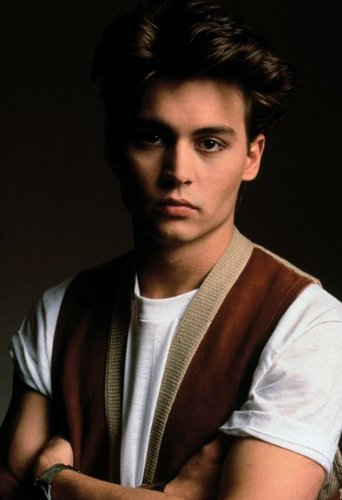 Johnny depp young pictures