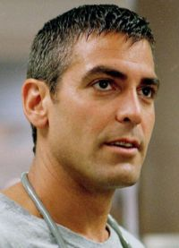 Джордж Клуни в сериале Скорая помощь