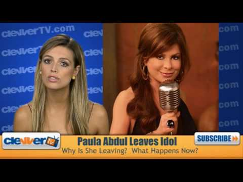 Why did paula abdul leave american idol