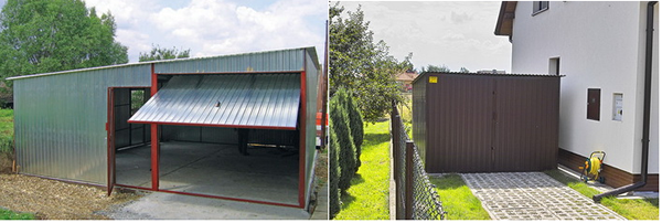 Производство гаражей