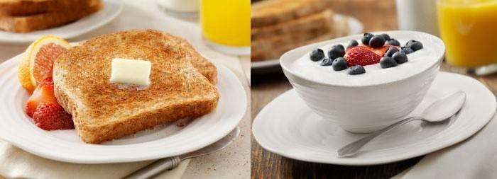 Система Миримановой: продукты на завтрак