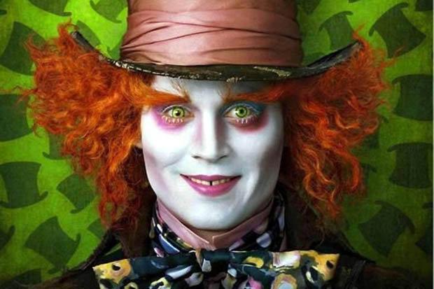 Johnny depp fears clowns