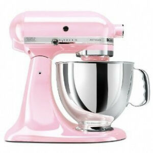 Kitchenaid ksm150pspk komen foundation artisan series 5-quart mixer pink