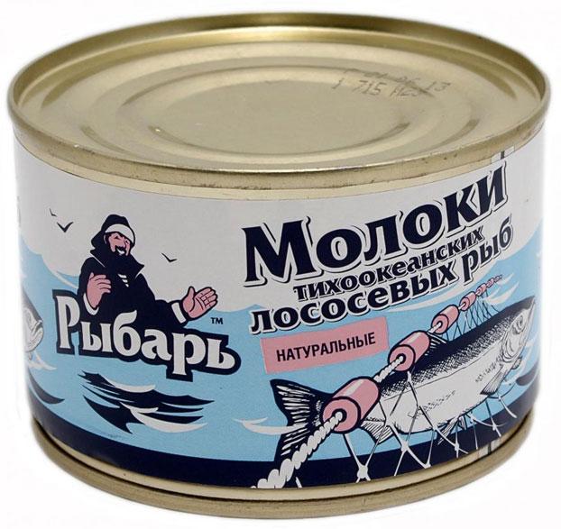 Молоки лососевых рыб консервы