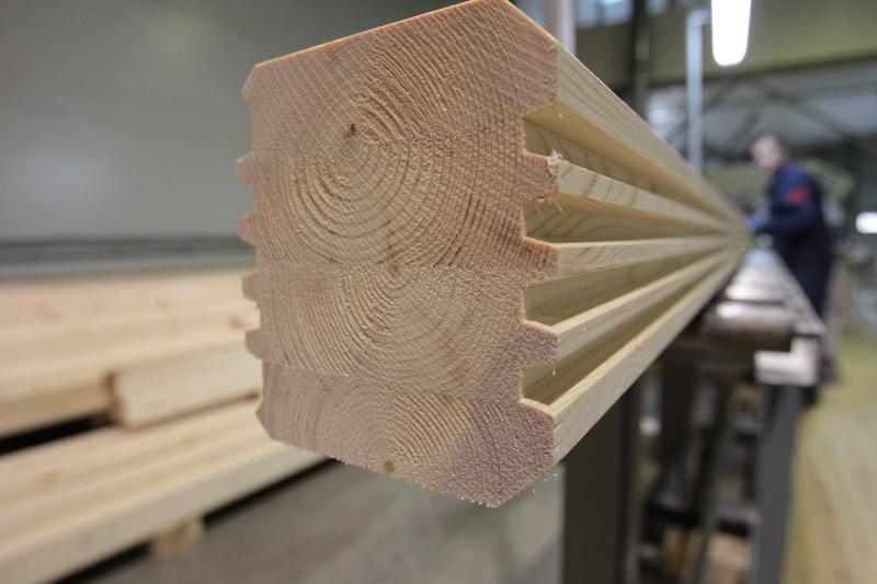 Технология производства бруса клееного бруса