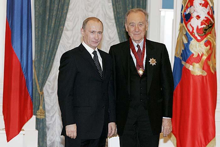 Родион Щедрин и Владимир Путин