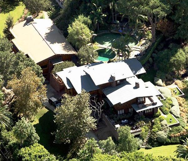 Дом Анджелины Джоли и Бреда Питта