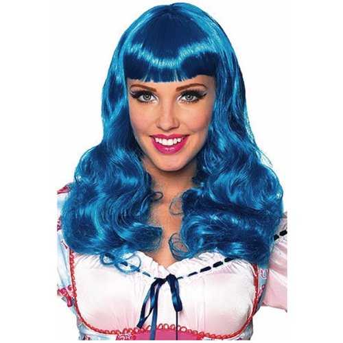 Katy Perry Blue Party Girl Wig, One Size