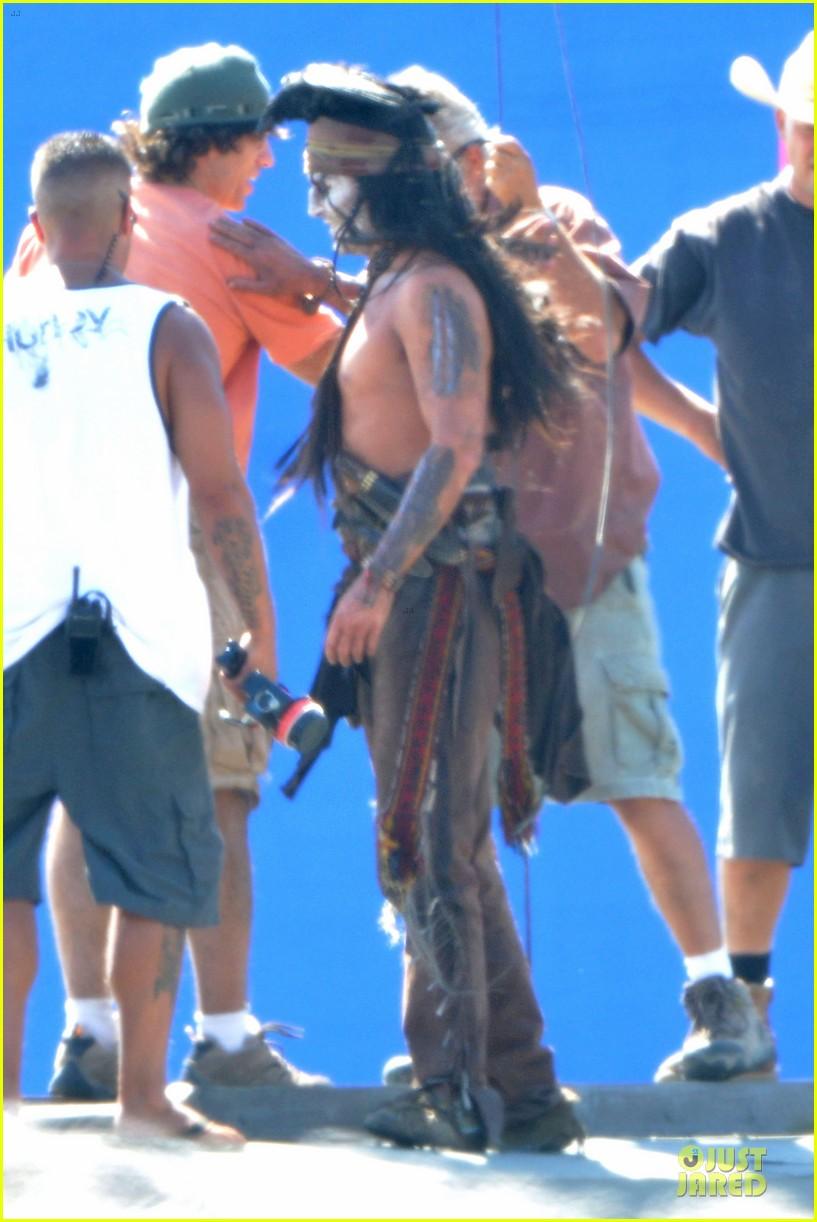 Johnny depp shirtless photos