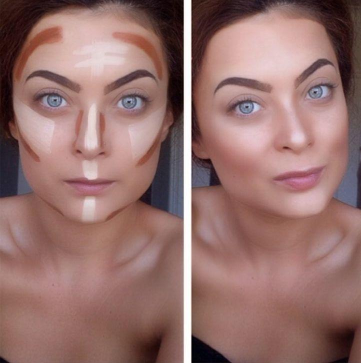 дневной деловой макияж фото