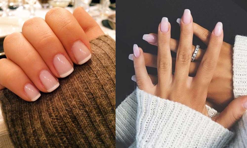 Short nails gel