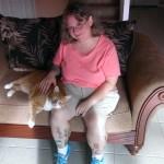 Tommy is definitely a lap cat!