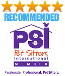 We are 5 Star Rated by Pet Sitting Customers in Naples!